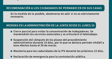 ESPAÑA EN ESTADO DE ALARMA MEDIDAS COVID-19